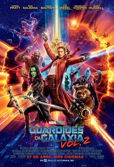 Guardiões da Galáxia vol. 2 3D - KinoEvolution