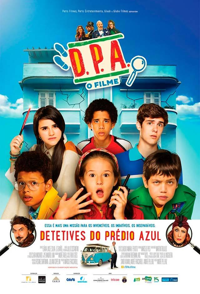 D.P.A - DETETIVES DO PRÉDIO AZUL 3D