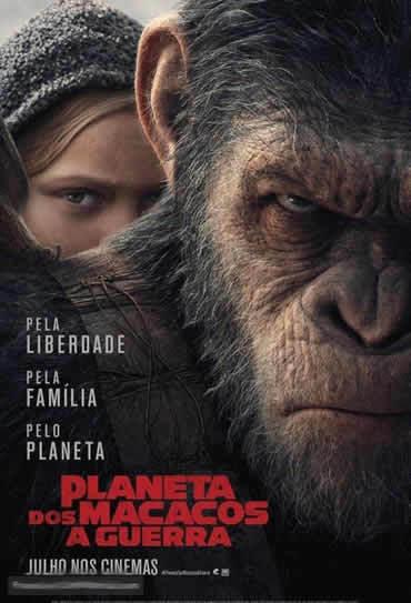 Planeta dos Macacos: A Guerra 3D
