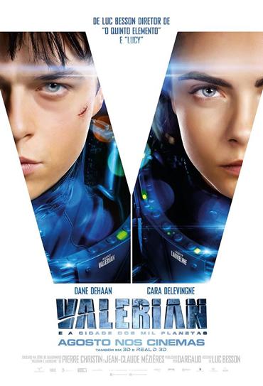 Valerian e a Cidade dos Mil Planetas 3D - IMAX