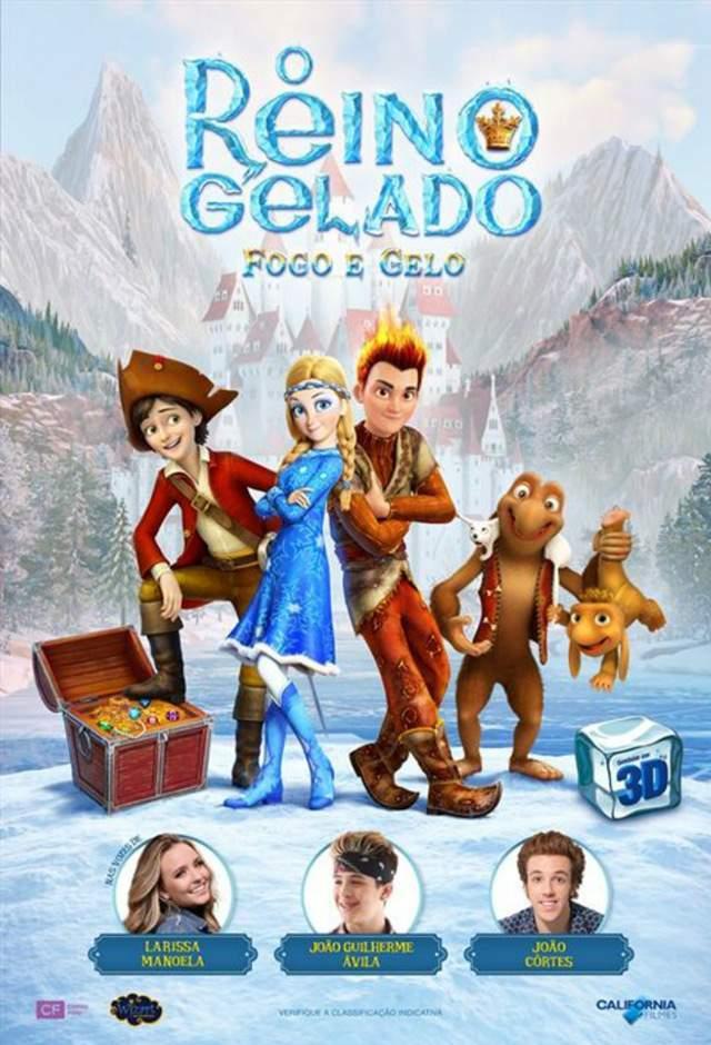 O Reino Gelado: Fogo e Gelo 3D