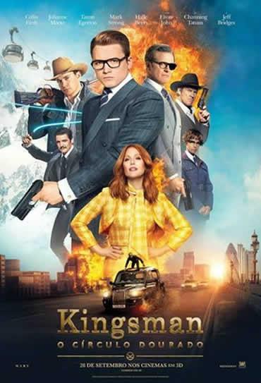 Kingsman: O Círculo Dourado 3D