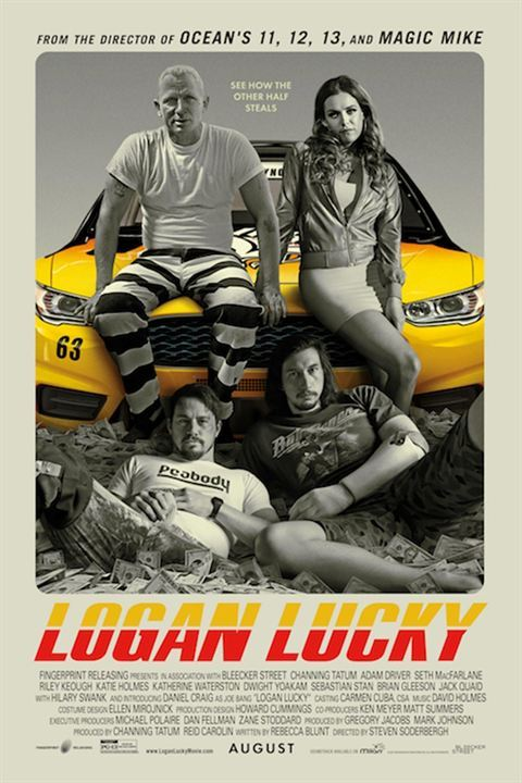 Logan Lucky: Roubo em Família Vip