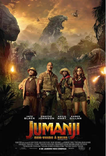 3D A Jumanji: Bem-vindo à Selva