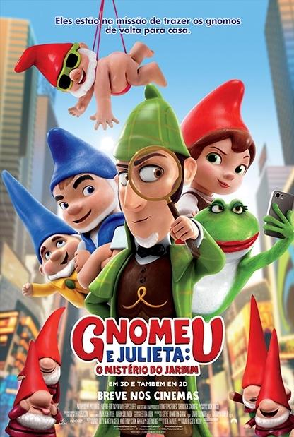 Gnomeu e Julieta - O mistério do jardim