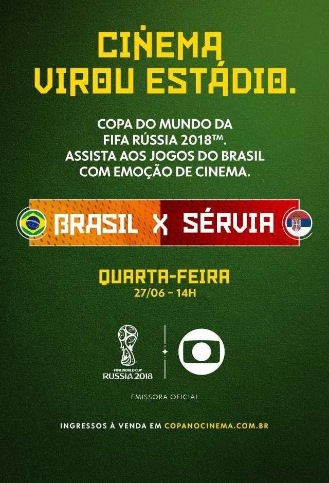 Rússia 2018: Brasil X Sérvia